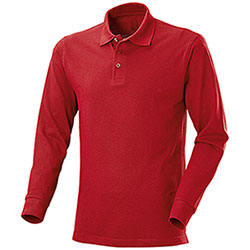 Polo Manica Lunga New Zeland Red