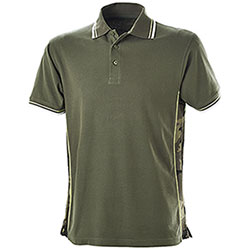 Polo Piquet Evolution Army Green-Camouflage