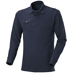 Polo piquet M/L One Pocket Navy