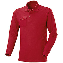 Polo piquet M/L One Pocket Red