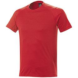 T-Shirt uomo Sport Nek Dry Skin Red
