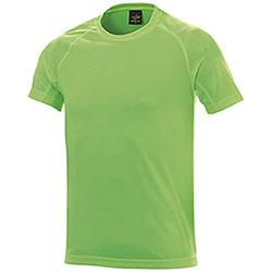 T-Shirt uomo Sport Nek Dry Skin Green
