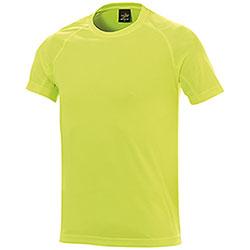 T-Shirt uomo Sport Nek Dry Skin Yellow