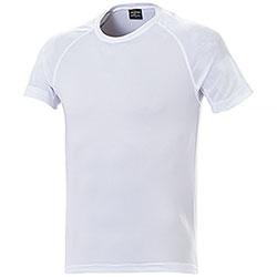 T-Shirt uomo Sport Nek Dry Skin White