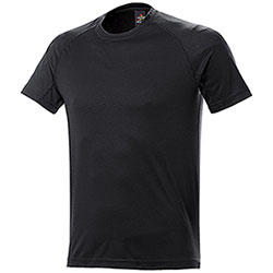 T-Shirt uomo Sport Nek Dry Skin Black