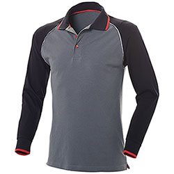 Polo uomo Comfort Work Grey M/L