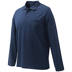 Polo Beretta Airmesh Blu Total Eclipse M/L