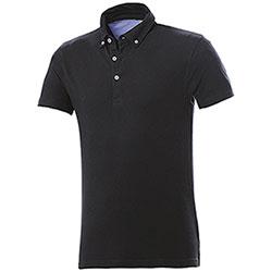 Polo Button Down Black