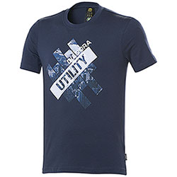 T-Shirt uomo Diadora Utility Graphic Organic Blu