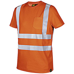 T-Shirt Diadora Utility Orange HV