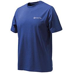 T-Shirt uomo Beretta WW Clay Blu Beretta