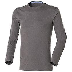 T-Shirt uomo Manica Lunga Jam Dark Grey