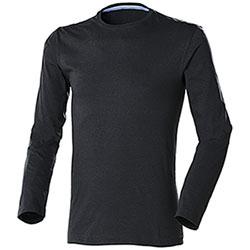 T-Shirt uomo Manica Lunga Jam Black