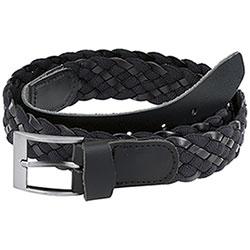 Cintura uomo  Pelle e Tessuto Black Kalibro