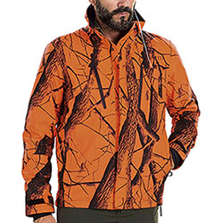 Giacca da caccia Beretta Light Active Camo Orange