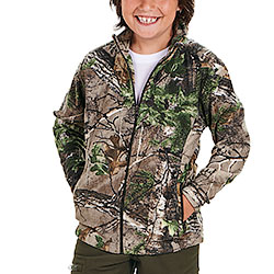 Giacca Seeland Kid Coby Fleece RealTree Xtra Green