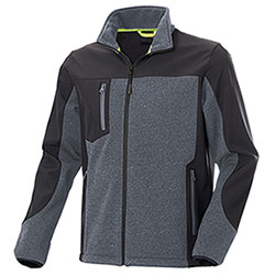 Giacca Tre Strati Softshell Ray Dark Grey/Black