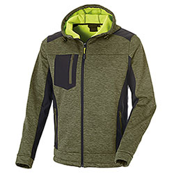 Giacca Tre Strati Softshell Tibet Army Green