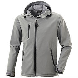 Giacca Softshell uomo Innsbruck Light Grey