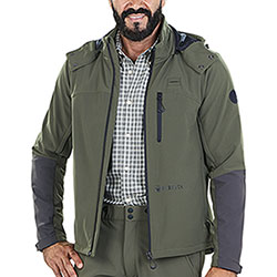 Giacca Beretta Advance Softshell Green