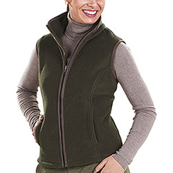 Gilet Baleno Lady Sally Fleece Green
