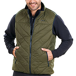 Gilet Jeep® Piumino Eco Down Dark Green