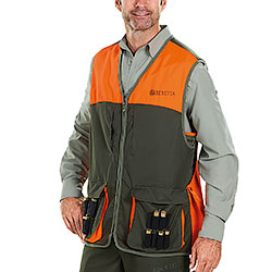 Gilet Beretta Upland Man Green Orange