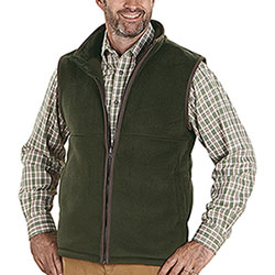 Gilet in pile Baleno Harvey Fleece Green