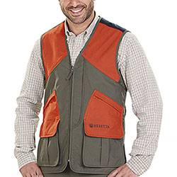 Gilet da caccia Beretta Wildtrail Full Zip Green Orange