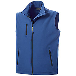 Gilet Softshell uomo Vision Royal