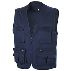 Gilet uomo Multitasche Navy
