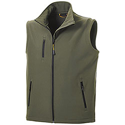 Gilet Softshell Vision Army Green