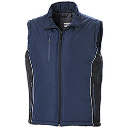 Gilet Work Bicolor Navy-Black