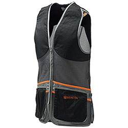 Gilet Tiro Beretta Full Mesh Black Grey