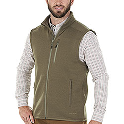 Gilet in pile Filson Ridgeway Fleece Polartec Field Olive