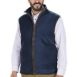 Gilet in pile Baleno Harvey Fleece Blu Navy