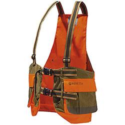 Trisacca Beretta Strap Vest Tobacco Blaze Orange