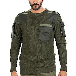 Maglione Combat MK 07 Green