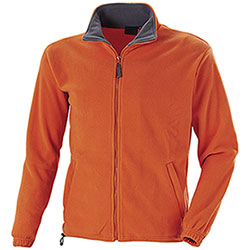 Maglia Pile North Orange Grey Grammatura 280 g/m²