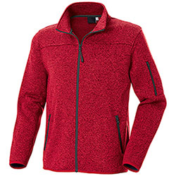 Felpa Full Zip Chester Red