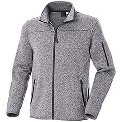 Felpa Full Zip Chester Light Grey