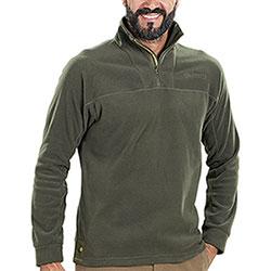 Micropile Beretta Half Zip Fleece Green
