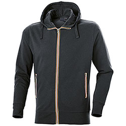 Felpa con cappuccio Vega Evolution Full Zip Black
