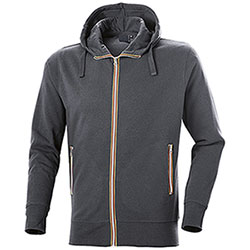 Felpa con cappuccio Vega Evolution Full Zip Dark Grey
