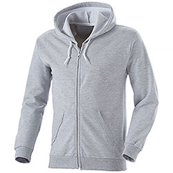 Felpa Full Zip City Heather Grey