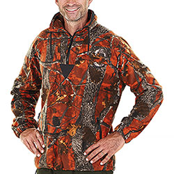 Maglione Kalibro Fleece Classic Underwood Fire Camo