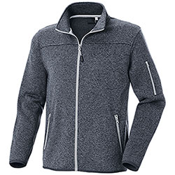 Felpa Full Zip Chester Dark Grey