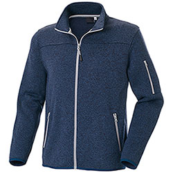 Felpa Full Zip Chester Blu