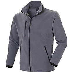 Pile uomo Full Zip Ontario Grey 280 g/m²