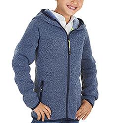 Felpa bambino Best Boy Light Blu Full Zip